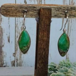 Jewelry - Chrysophrase Sterling Earrings